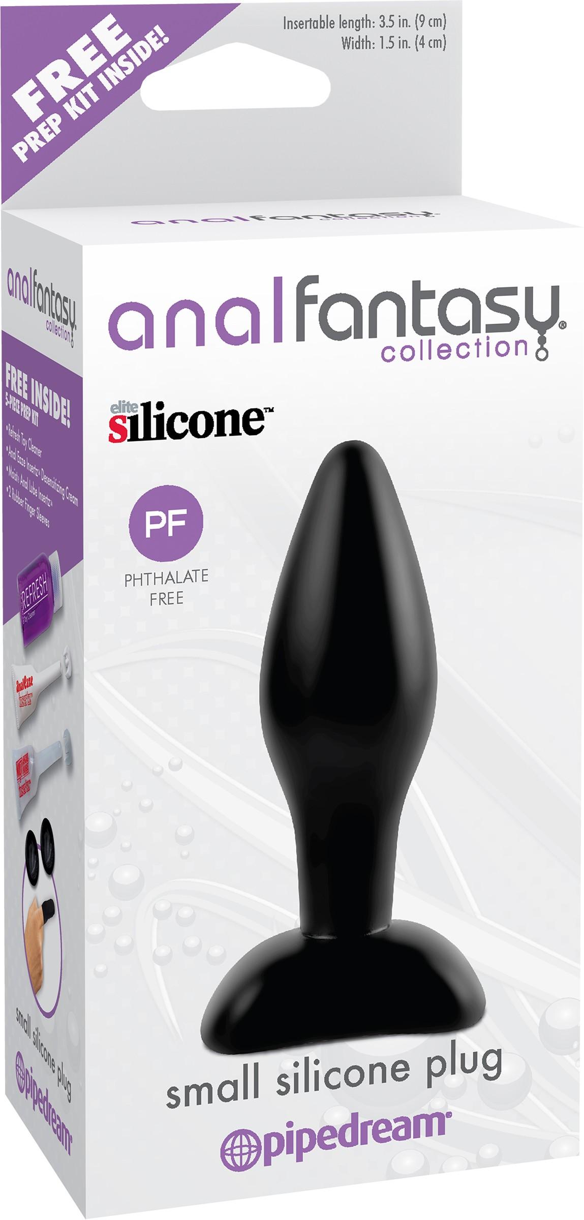 SO ANAL FANTASY COLLECTION SMALL SILICONE PLUG