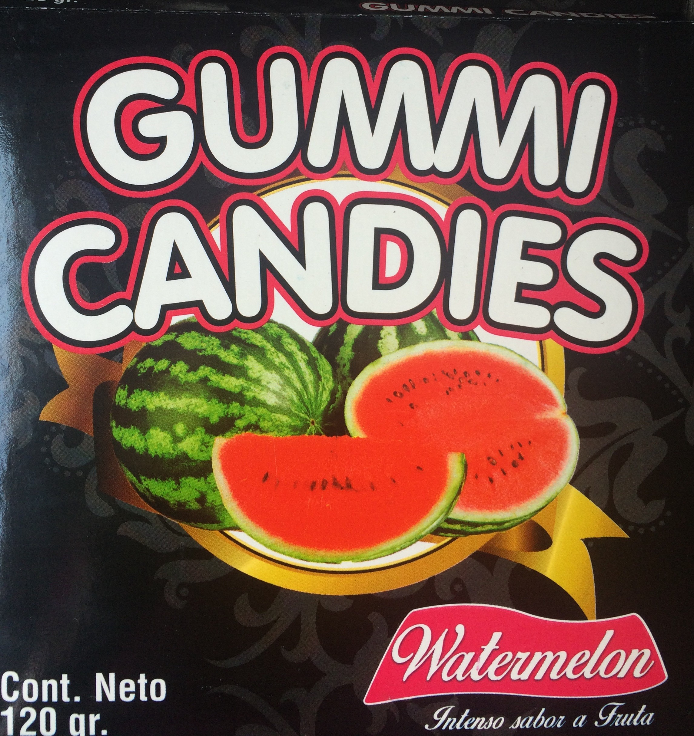 EDIBLE GUMMI PANTIE COMESTIBLE WATERMELON -LM