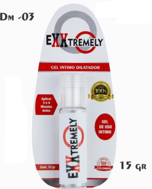 EXXTREMELY - GEL INTIMO DILATADOR ANAL