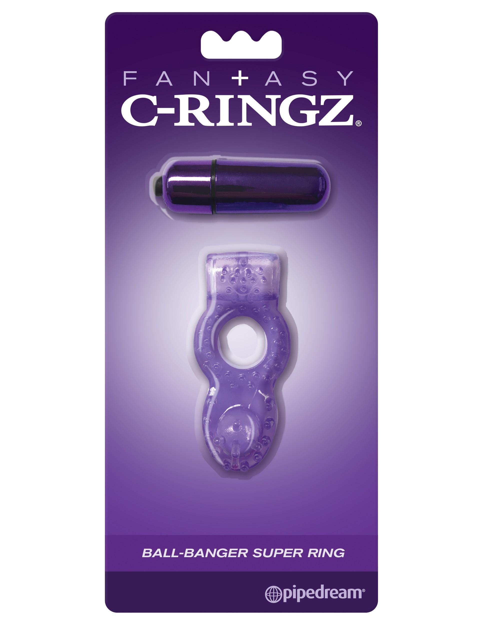 FANTASY C-RINGZ VIBRATING SILICONE