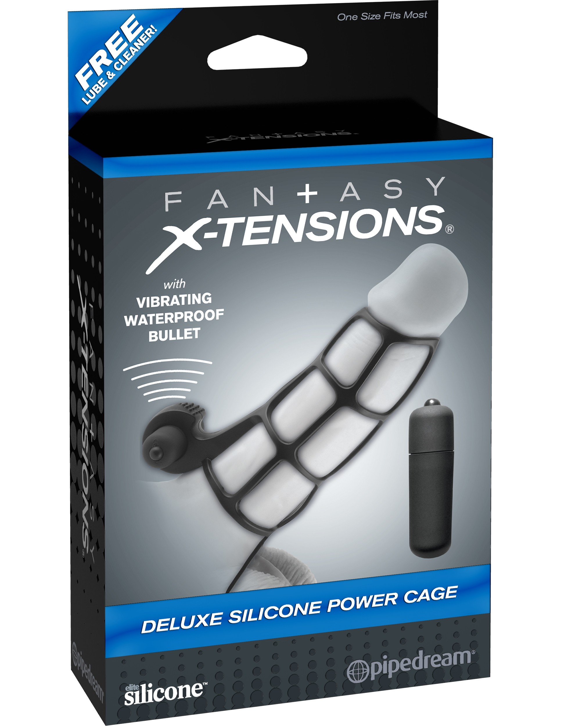 FX - DELUXE SILICONE POWER CAGE