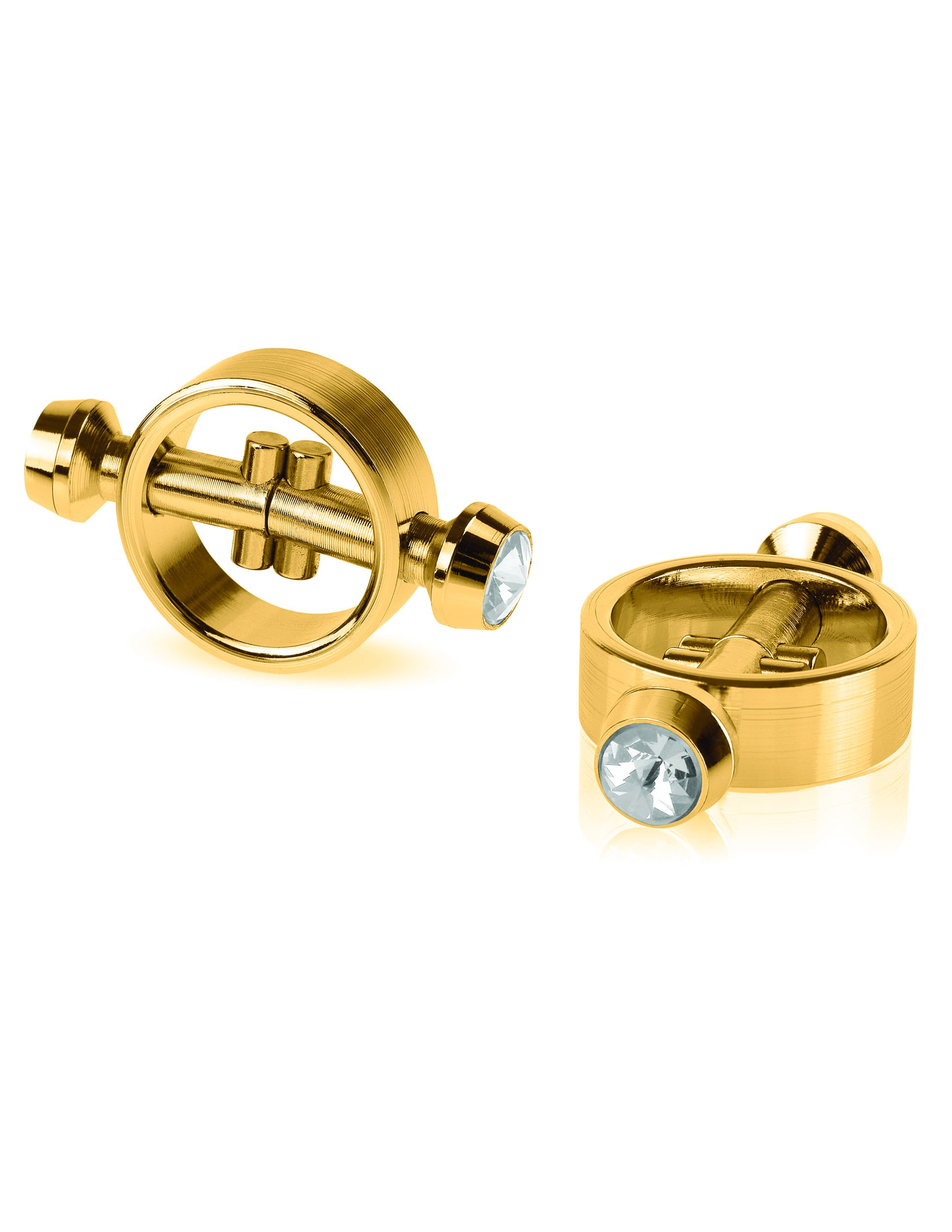 GOLD MAGNETIC CLAMPS
