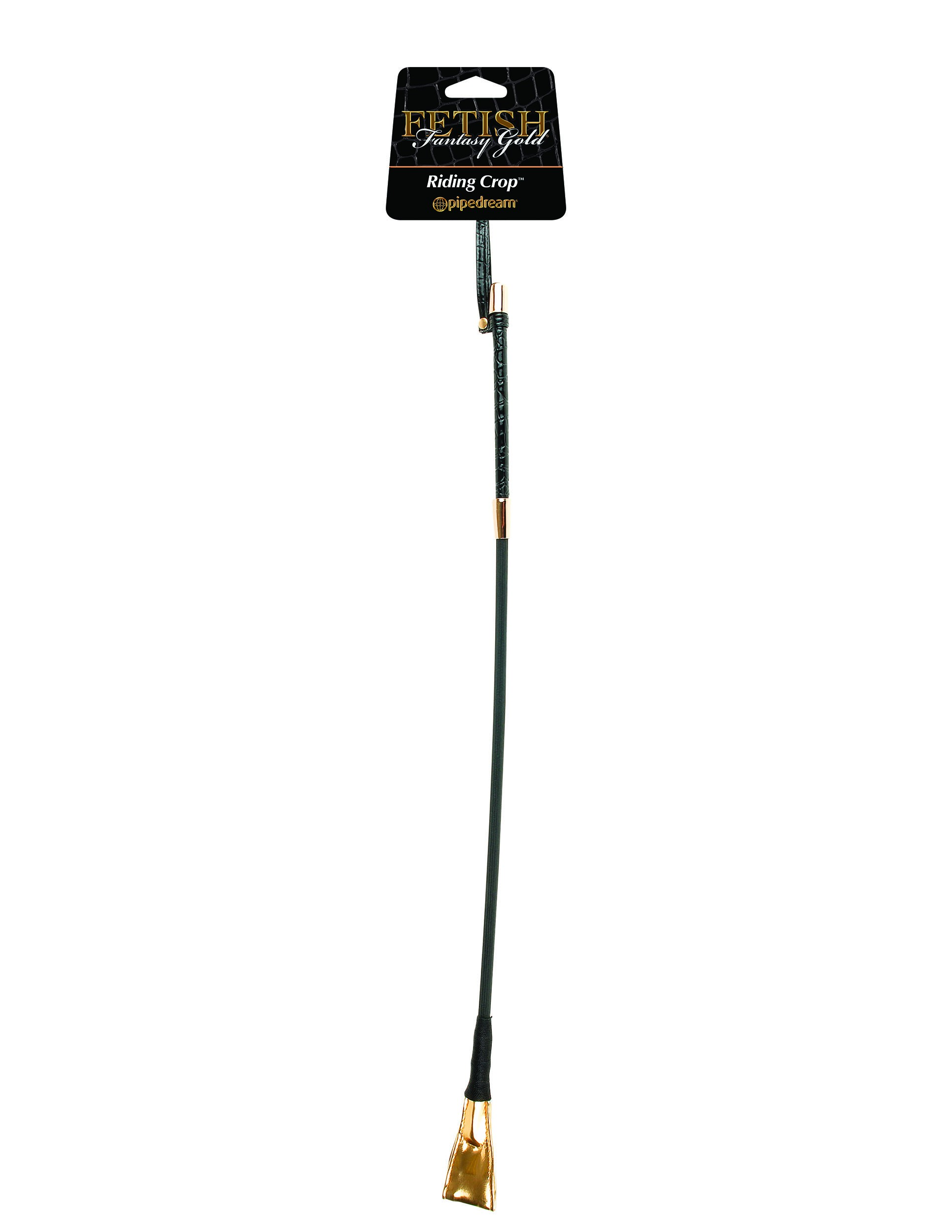 GOLD - RIDING CROP BLACK