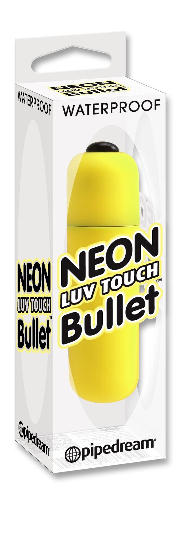 Neon Luv Touch Bullet-MINI-VIBRADOR AMARILLO