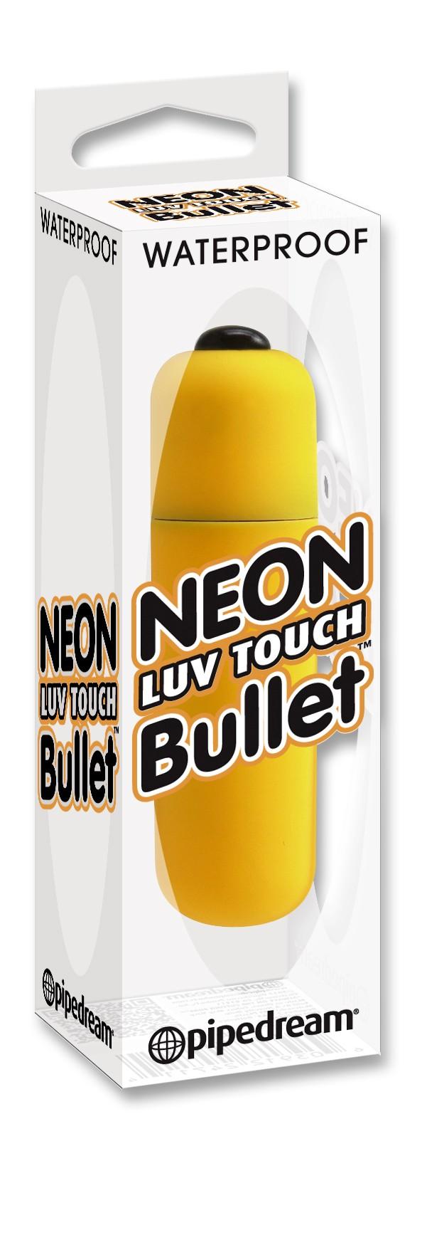 Neon Luv Touch Bullet- MINI-VIBRADOR NARANJA