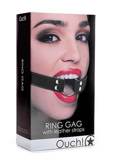 RING GAG - BLACK