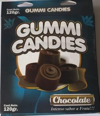 EDIBLE GUMM PANTIE COMESTIBLE CHOCOLATE-LM