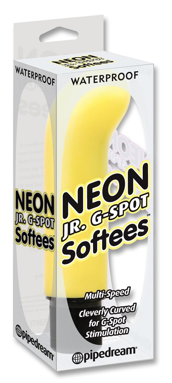 NEON JR GSPOT SOFTEES - YELLOW